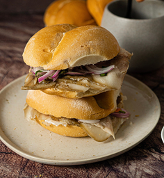Sándwich de Testa de Cerdo Artesanal Dehuacho