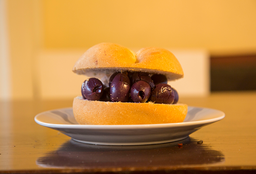 Sándwich de Aceitunas Secas