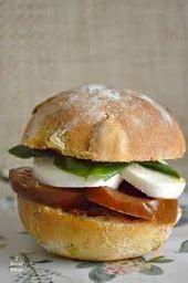 Sándwich de Caprese