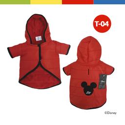 Casaca Disney Mickey Macho Rojo Talla 04 (70253)