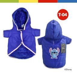 Casaca Disney Stitch Hembra Azul Talla 04 (70288)