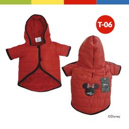 Casaca Disney Minnie Hembra Rojo Talla 06 (70259)