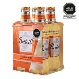 Four Pack Ginger Beer Britvic X 200 Ml