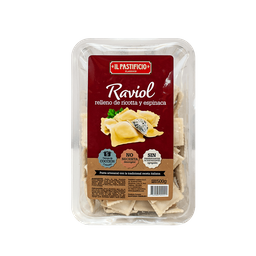 Il Pastificio Pasta Raviol Relleno De Ricotta Y Espinaca