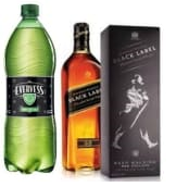 Johnnie Walker Black Label 750Ml. + Evervess 1.5Lt.