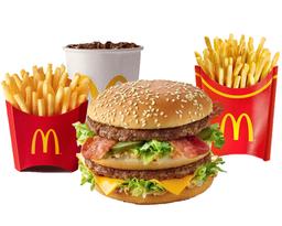 GRATIS 1 Papa Grande por Combo Big Mac Bacon Mediano