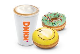 Desayuno Latte y Donuts