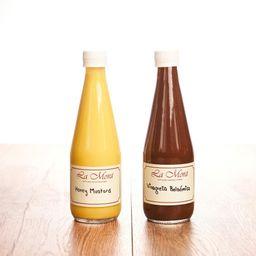 Honey Mustard y Vinagreta Balsámica