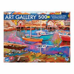 Rompecab 500 Piezas Art Gallery