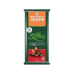 Trapa Stevia Negro 80%