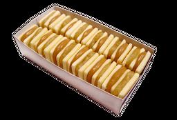 Alfajores Harina de Arroz Crema Manzana x12