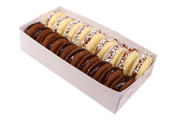 Alfajores Maicena/Chocolate x19