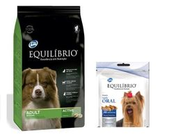 Equilibrio Adult Dogs All Breeds2kg+Equilibrio snack salud oral