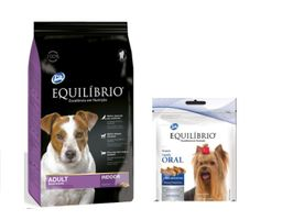 Equilibrio Adult Dogs Small Breeds7.5kg+Equilibrio snack