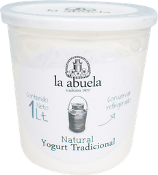 Laabuela Yogurt Natural 1l