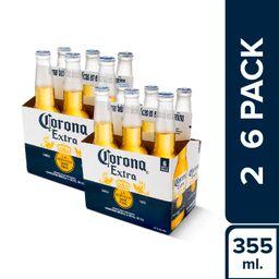 2 Six Pack Corona