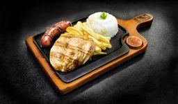 Pechuga Parrillera con Chorizo