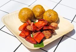 Mixto: Cecina, Chorizo con Tacacho