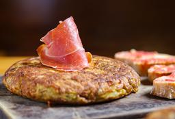Tortilla Española de Jamón Serrano
