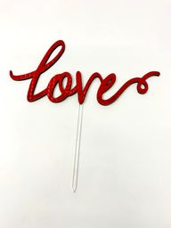 Topper Love - Red