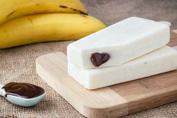 Plátano con Nutella
