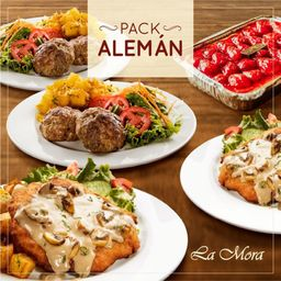Pack Aleman para 4
