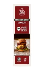 Bon Beef Carne de Hamburguesa Angus Mini