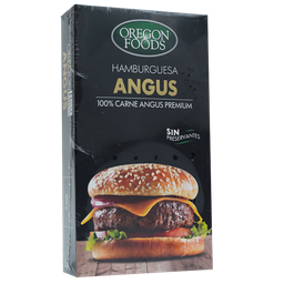 HAMBURGUESAS ANGUS OREGON BEST MEATS 4 UNIDADES X 200 GRAMOS