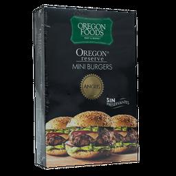 MINI BURGERS ANGUS OREGON BEST MEATS 12 UNIDADES X 50 GRAMOS
