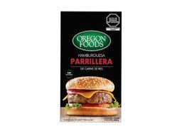 HAMBURGUESA PARRILLERA OREGON BEST MEATS 4 UNIDADES X 150G