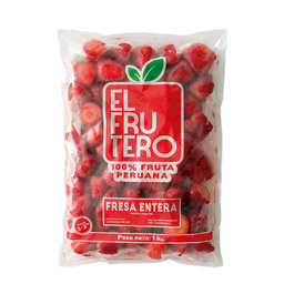 Fresa Entera El Frutero X1Kg