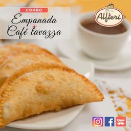 Combo Empanada con Café Lavazza