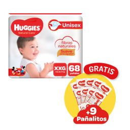 Huggies Pañal Natural Care Xxg