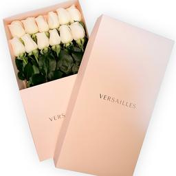 Rosas Caja Por 12 - Blanco