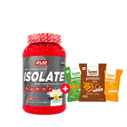 Lab Combo Isolate Proteína 2 Lb + Snacks Stix Iwon