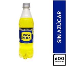 Inca Kola Sin Azúcar 600 ml