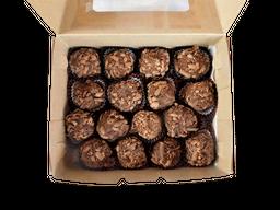 Caja Trufas Con Cacao Orgánico (16 Unidades)