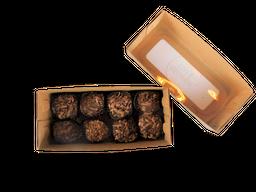 Caja Trufas Con Cacao Orgánico (8 Unidades)