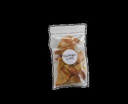 Quinoa Café Pita Chips Ajo Y Aceite De Oliva