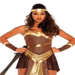 Disfraz de Gladiadora dorada