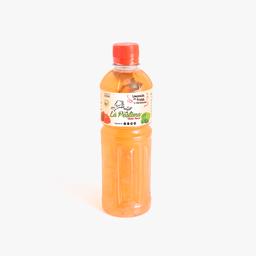 Limonada con fresa y hierbabuena