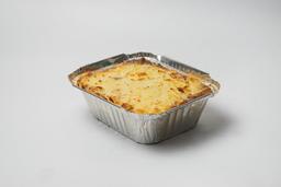 Lasagna de Salsa Blanca, Espinaca , Champiñones y queso Cheddar