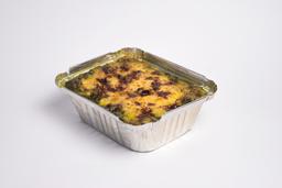 Lasagna de Pesto con Nueces, Pecanas Acarameladas y Prosciutto
