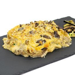 Lasagna en Pasta Integral con Zucchini