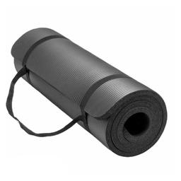 Fit4ndFit Tapete de Yoga 15 mm Negro