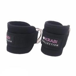 Krabi Collection Correas de Tobillo Color Negro