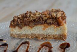 Skinny Apple Crumble Cheesecake