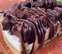 Cheese Cake de Brownie