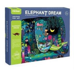 Rompecabezas Gigante Elefante