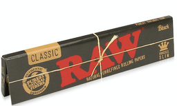 Raw Black Inside Out Rolling Papers King Size Slim